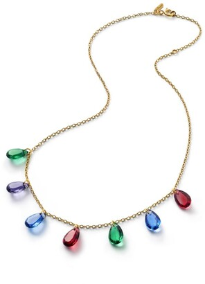 Baccarat Crystal Drops Of Colour Necklace