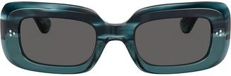 Oliver Peoples Saurine rectangular sunglasses