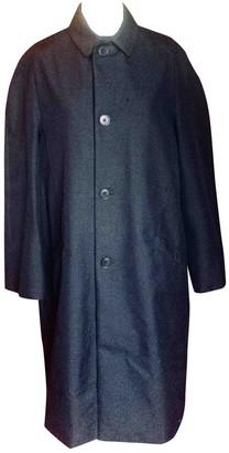 Acne Studios Navy Cotton Coat for Women
