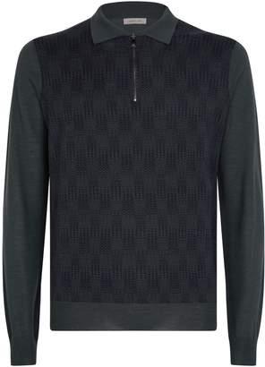 Corneliani Zipped Polo Shirt