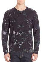 Splendid Mills Watercolor Printed Raglan Sleeve Pullover