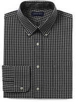 Classic Men's Tall 40s Poplin Dress Shirt-Boreal Moss Multi Gingham