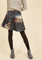 ModCloth Supernova Twirl Skater Skirt in XS