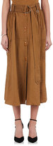Nina Ricci Women's Snap-Front Belted Midi-Skirt