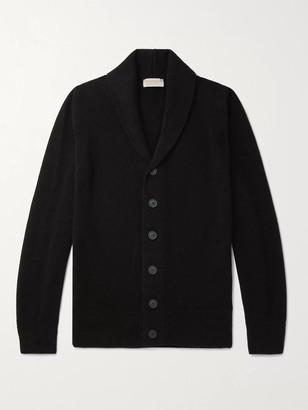 John Smedley Crestwood Slim-Fit Shawl-Collar Wool And Cashmere-Blend Cardigan