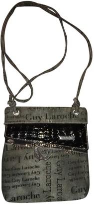 Guy Laroche Grey Cloth Handbags