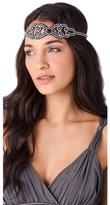 Deepa Gurnani Crystal Scroll Headband
