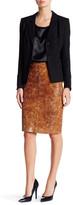 Lafayette 148 New York Modern Slim Skirt (Petite)
