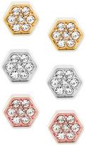 Michael Kors 3-Pc. Set Cubic Zirconia Stud Earrings