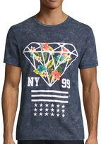 URBAN NATION Urban Nation Short-Sleeve Stripe Diamond Tee