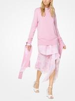 Michael Kors Cashmere Streamer Pullover
