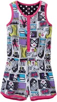 Petit Lem Comic Romper (Little Girls & Big Girls)