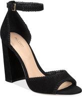 Aldo Women's Elvyne Two-Piece Block-Heel Sandals