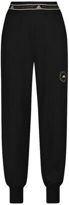 adidas by Stella McCartney Organic cotton-blend sweatpants