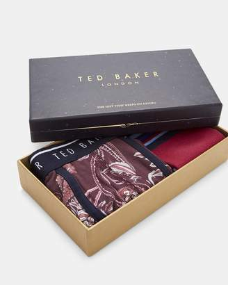 Ted Baker SLIP Cotton boxer and sock set