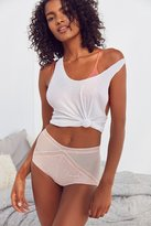 Urban Outfitters Dare To Desire Mesh Lace High-Waisted Panty
