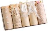 Happy Cherry Girls 5-Pack Briefs Underpants Organic Cotton Soft Underwear for Teen Girls