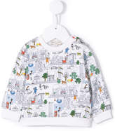 Paul Smith 'Adventure City' print sweatshirt