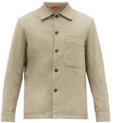 Barena Venezia - Cedrone Cotton-blend Canvas Overshirt - Mens - Beige
