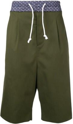 Maison Margiela elasticated waist shorts