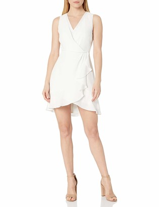 BCBGMAXAZRIA Women's Evening Ruffle Dress
