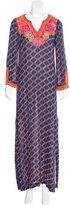 Trina Turk Embellished Maxi Dress