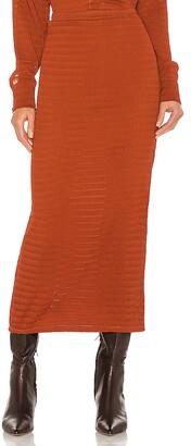 Camila Coelho Nicki Midi Skirt