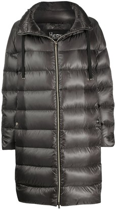 Herno Funnel Neck Padded Coat