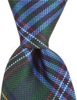 Roundtree & Yorke Celebrate Plaid Traditional Silk Tie
