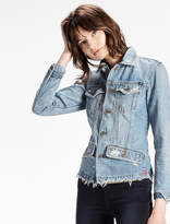 Lucky Brand Waisted Trucker Jacket