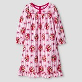 Toddler Girls' Strawberry Shortcake Long Sleeve Nightgown Red