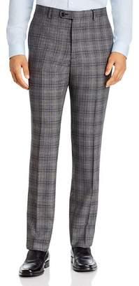 John Varvatos Windowpane Plaid Slim Fit Suit Pants