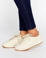 Nike Cortez Premium Sneakers In Oatmeal