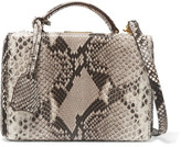 Mark Cross Grace Small Python Shoulder Bag - Snake print