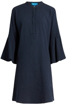 MiH Jeans Beck flared-sleeve cotton dress