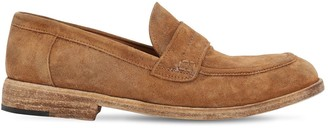 Shoto 20mm Washed Leather Loafers