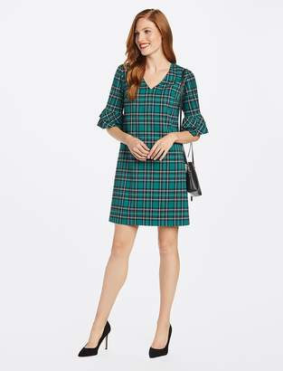 Draper James Ruffle Sleeve Shift Dress