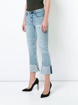 RtA turn up hem jeans
