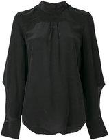 Designers Remix Sadie back button shirt