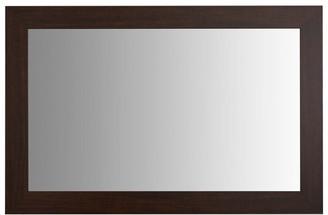 "Pendleton Walnut Framed Mirror, 28""x36"""