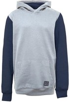 Brave Soul Junior Boys State OTH Hoody Light Grey Marl/Navy