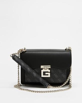 GUESS Enrica Convertible Cross-Body Flap Bag