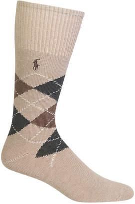 Polo Ralph Lauren Men Men Five Diamond Argyle Socks