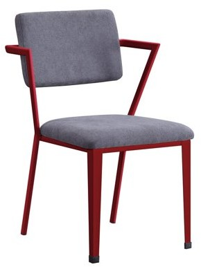 ACME Furniture Acme Cargo Metal Frame Chair, Multiple Colors