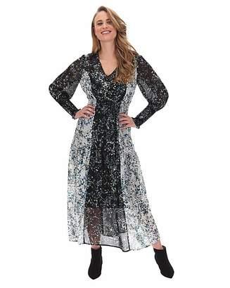 Skechers Vero Moda Mixed Floral Midi Dress