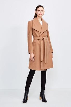 Karen Millen Belted Wrap Coat