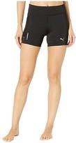 Puma Ignite Short Tights Black) Women's Shorts