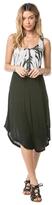 Amuse Society Fiona Tie Dye Front Tank Dress