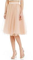Belle Badgley Mischka Nevada Tulle Skirt