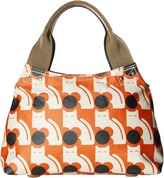 Orla Kiely Poppy Cat Print Classic Zip Shoulder